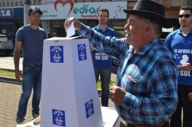 Douradinenses vão às urnas pela separação do Sul do resto do País