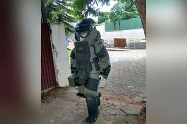 Esquadrão Antibombas recolhe dinamite não detonada em Douradina