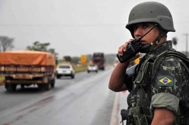 Exército apoia fiscalização na fronteira com base em Altônia