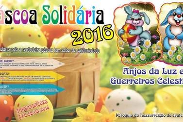 Grupo de Jovens realiza campanha Páscoa Solidária em Ivaté