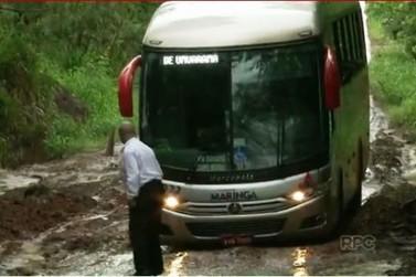 Levantamento aponta que a pior estrada do Paraná fica entre Umuarama e Mariluz