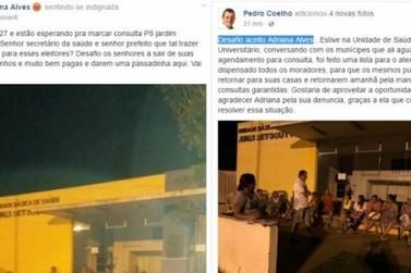 Moradora desafia prefeito a ir servir café para pacientes em fila de posto
