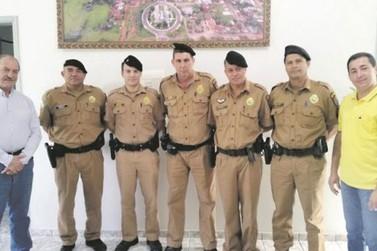 Novos policiais reforçam a segurança de Maria Helena