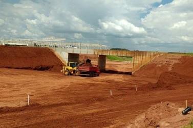 Obra da trincheira da rodovia PR-482 em Umuarama deverá ser entregue em março