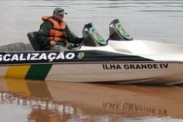Parque de Ilha Grande reforça fiscalização no rio Paraná