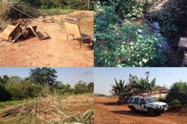 Policia Ambiental flagra danos em floresta permanente em São João do Ivaí