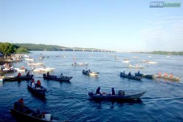 Tudo pronto para mais uma edição da Pesca ao Pacu em Porto Camargo