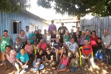 Grupo de Douradina visita e faz doações ao Lar do Idoso de Alto Paraíso