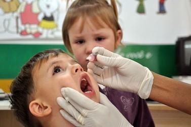 Começa neste sábado a campanha de vacinação contra a paralisia infantil