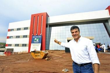 Hospital do Câncer de Umuarama está com 80% dos serviços concluídos