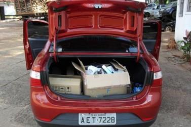 Policia Rodoviária de Iporã apreende mercadorias contrabandeadas