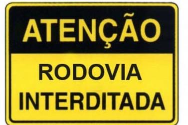 Região de Umuarama tem duas rodovias interditadas