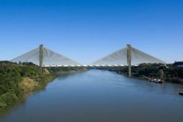 Governo reabre edital para nova ponte entre Brasil e Paraguai