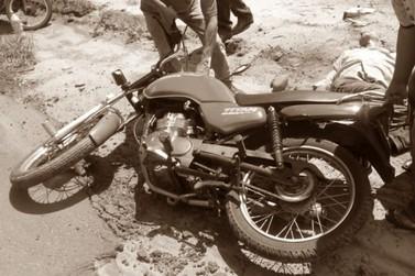 Motociclista perde controle ao ser fechado por um carro entre Douradina e Vila Formosa