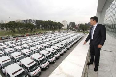 Governador entrega ambulâncias para Douradina e municípios da região