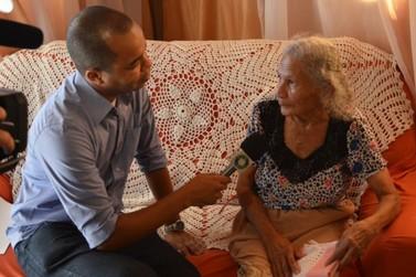 Em Douradina dona Filó completou 113 anos