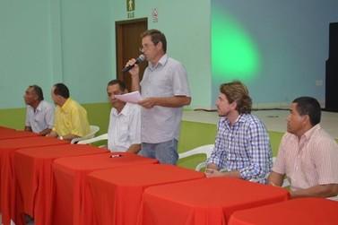 Lideranças participam de reunião regional do PT em Douradina