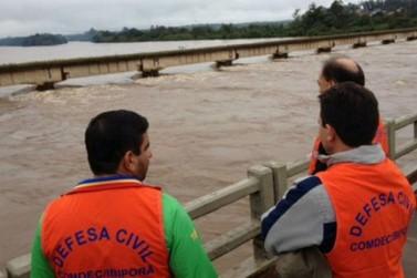 Rodovias da região noroeste seguem interditadas devido às chuvas