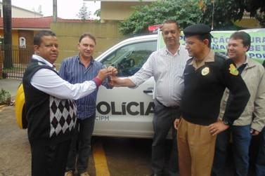Polícia Militar de Douradina recebe nova viatura
