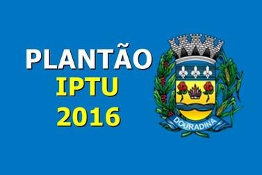 Prefeitura de Douradina realiza hoje plantão para entrega do carnê do IPTU