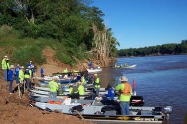 Regionais do IAP realizam o 17º Rally Fluvial do rio Ivaí