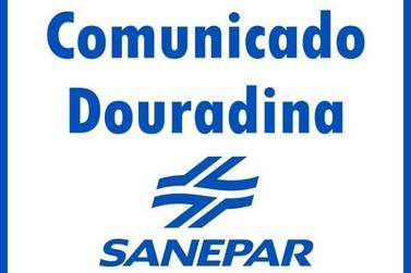 Sanepar informa que Douradina irá ficar sem água nesta terça-feira