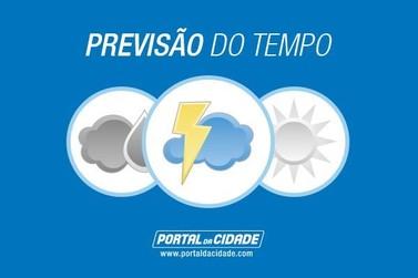 Simepar diz que há previsão de chuva para hoje em Douradina
