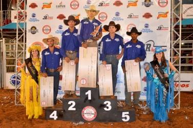 Sul-mato-grossense é o campeão do Rodeio da Expo Icaraíma 2015