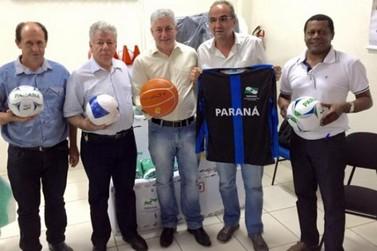 Umuarama e região recebem investimentos do programa Paraná Mais Esporte