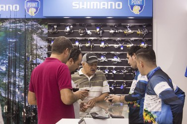 Shimano lança espaço exclusivo para pescadores na Cellshop Importados