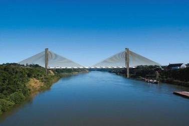 Temer pretende destinar recursos para 2ª ponte entre Brasil e Paraguai