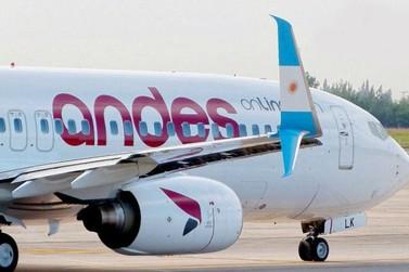 Andes cancela voos charters para o Aeroporto de Foz do Iguaçu