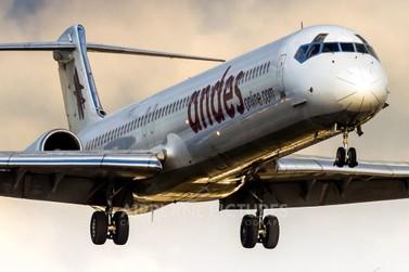 Andes vai reprogramar início das operações aéreas em Foz do Iguaçu