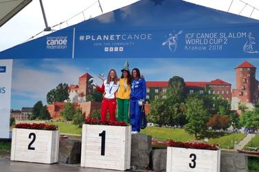 Irmãs levam o Brasil ao pódio em etapa da Copa do Mundo de Canoagem Slalom