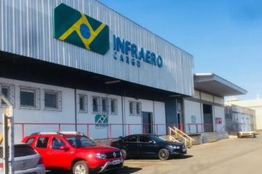 Movimentação de cargas no Aeroporto de Foz do Iguaçu tem alta de 300%
