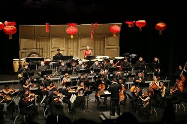 Orquestra sinfônica chinesa se apresentará no Festival da Lua Cheia