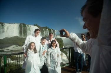 Parque Nacional do Iguaçu atingiu 1 milhão de visitantes neste domingo