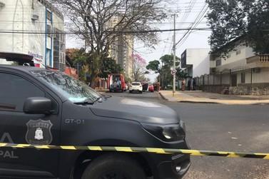 Assaltante envolvido em confronto com a polícia morre no hospital
