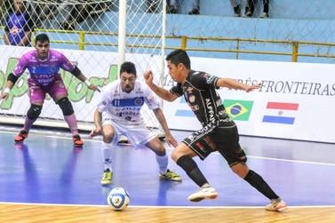 Foz Cataratas arranca empate diante do Pato Futsal em jogo de seis gols