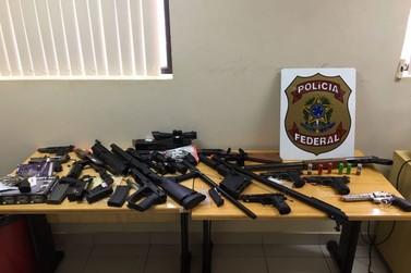 Polícia Federal apreende armas e contrabando nas margens do Rio Paraná