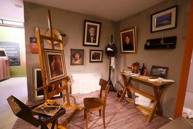Exposição de Alfredo Andersen no Ecomuseu é prorrogada até 9 de setembro
