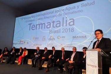 Ministro destaca o potencial de Foz para desenvolver o turismo termal