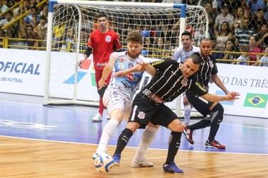Foz Cataratas empata com o Corinthians pelas oitavas da Liga Nacional