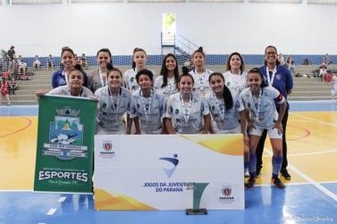 Foz do Iguaçu é campeã do futsal feminino dos Jogos da Juventude