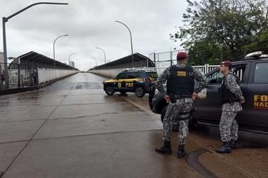 Manifestação bloqueia Ponte da Amizade, entre Brasil e Paraguai