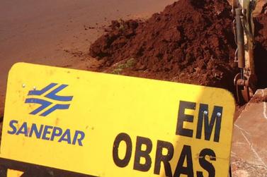 Obras de ampliação da rede de água interrompem o trânsito na Vila Yolanda