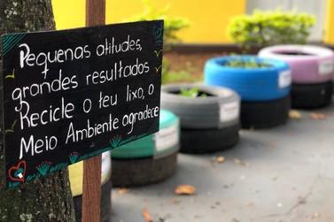 Universitários criam Jardim Sensorial com conceitos de Educação Ambiental