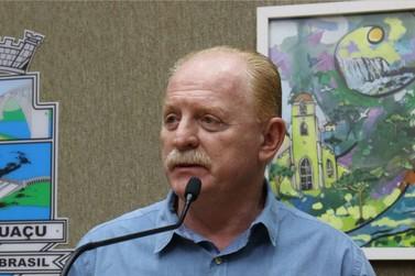 Vermelho defende macroprojetos de desenvolvimento para Foz do Iguaçu