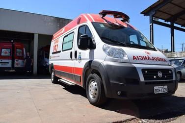 SAMU de Foz do Iguaçu recebe nova ambulância de suporte avançado