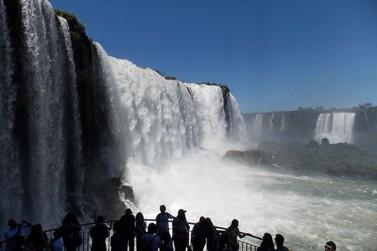 Visitantes terão 1 hora a mais para curtir as Cataratas do Iguaçu no feriado